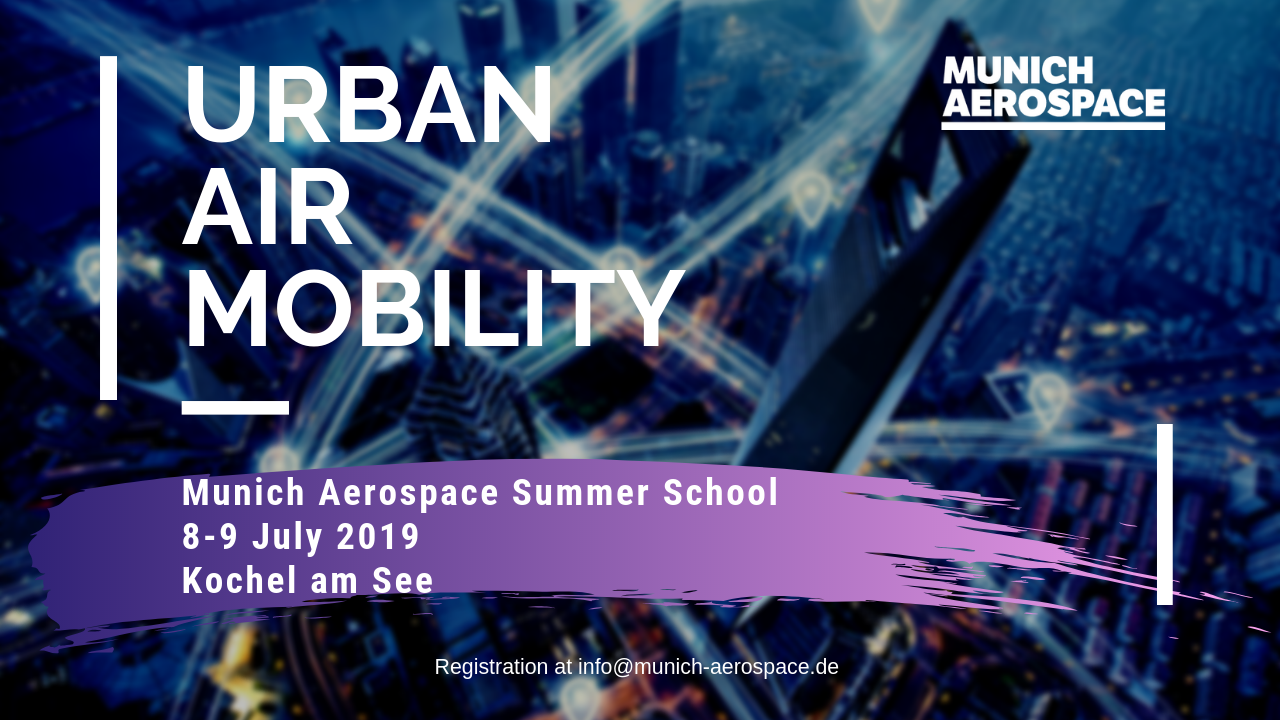 HUB UAM Summer School Munich Aerospace