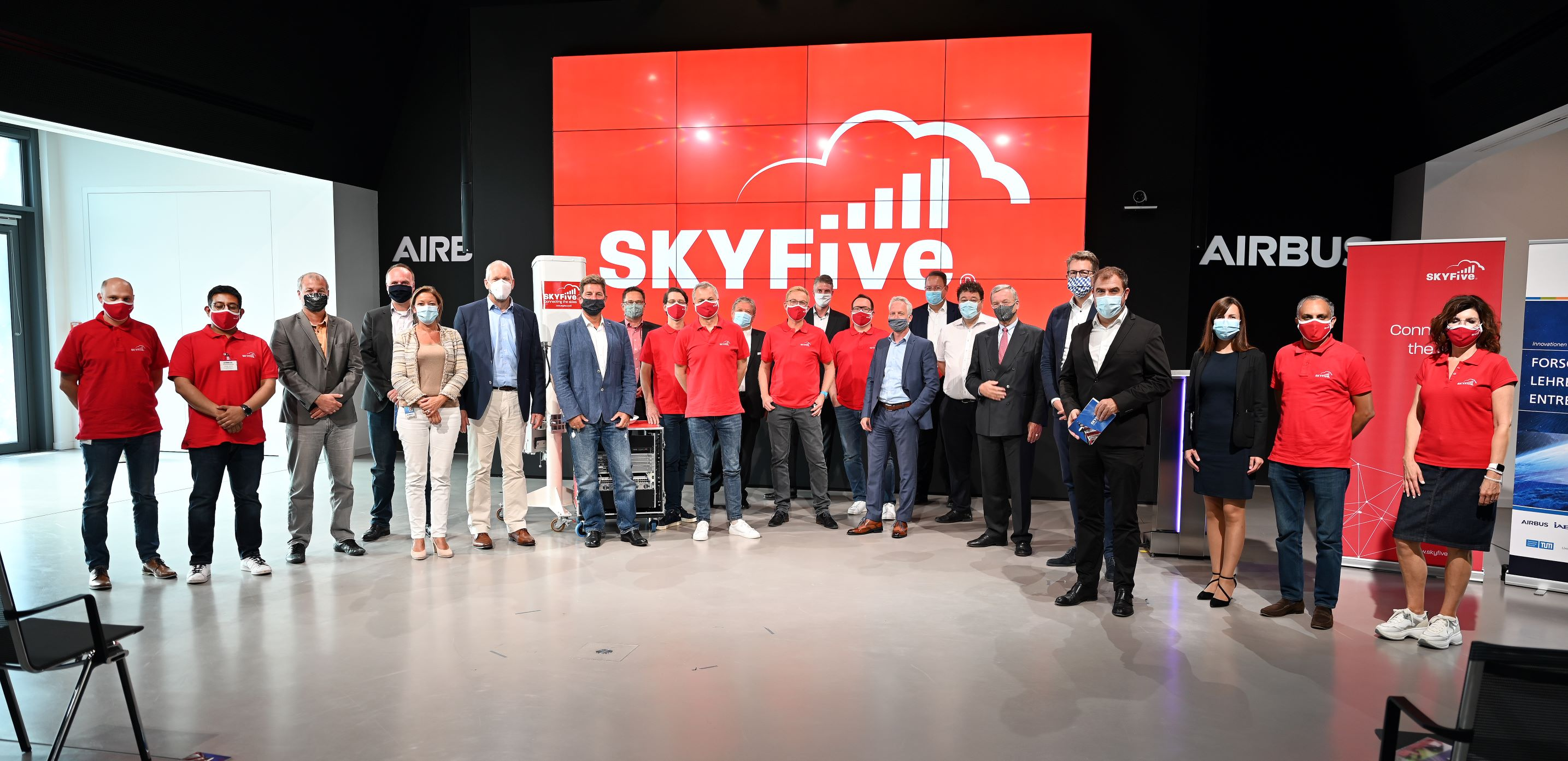 SkyFive opens Head Office at LBC
