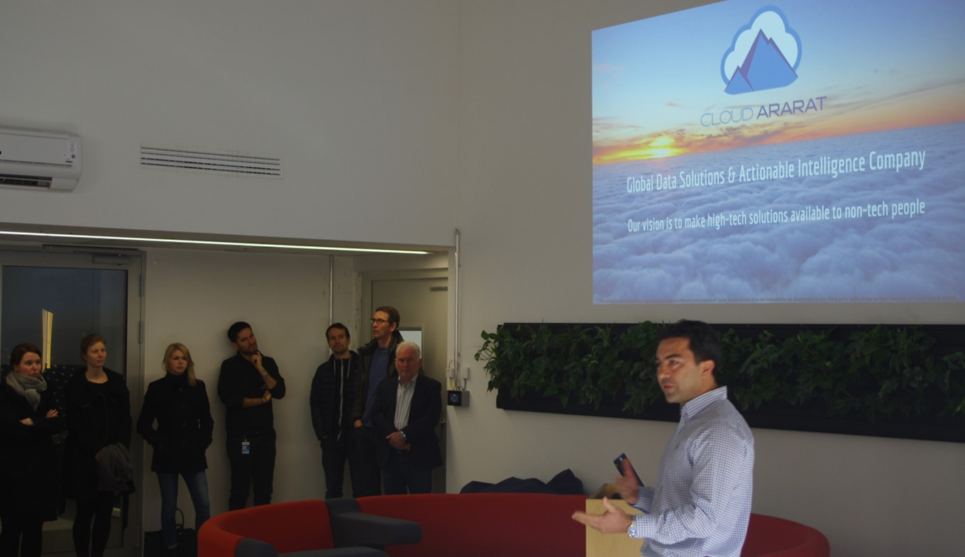 "Get-together bei Airbus im ""CTO Hub"""